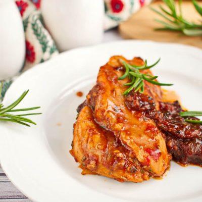 Braised Balsamic Chicken Recipe-How To Make Balsamic Chicken-Easy Braised Balsamic & Herb Chicken Recipe