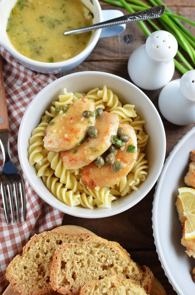 Chicken Piccata Recipe-Lemon Chicken Piccata-Chicken Piccata Recipe