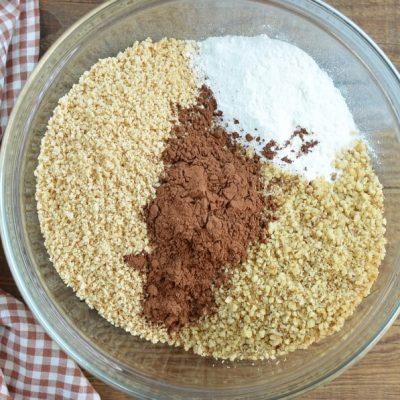 Cocoa and Nut Rum Balls recipe - step 1