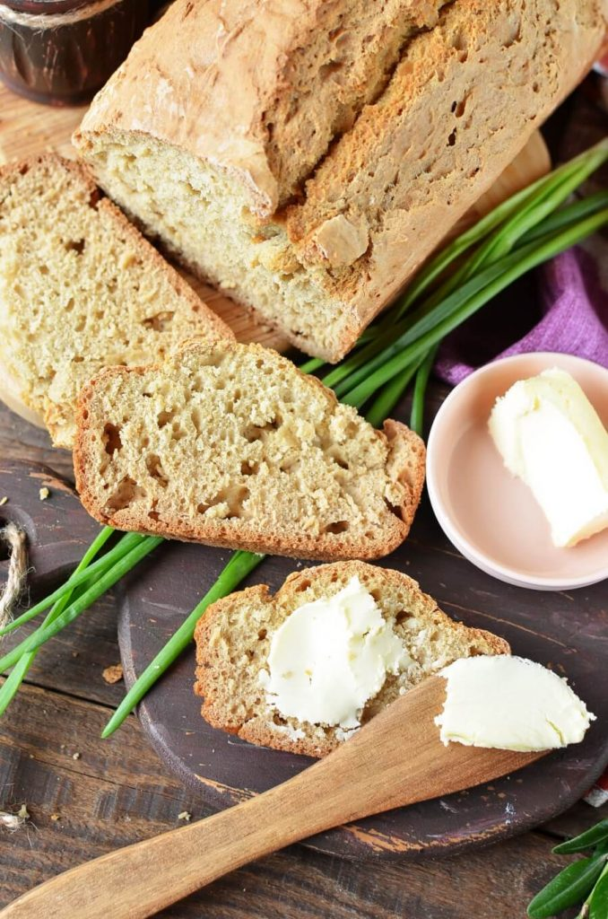 Fill your home with the glorious smell of my Colonial-Style Brown Bread baking!