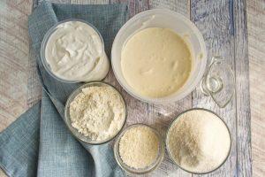 Ingridiens for Coconut Sour Cream Cake