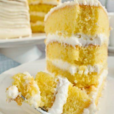 Coconut Sour Cream Cake Recipe-Sour Cream Coconut Cake Recipe-Easy Coconut Frosting Recipe