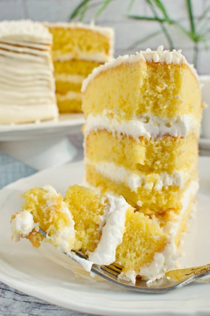 This sour cream coconut cake an easy and scrumptious bake