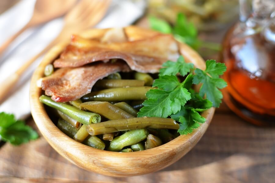 How to Cook Arkansas Green Beans Recipe - Healthy Green Beans with Bacon - Make Arkansas Green Beans