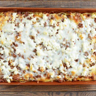 Baked Spaghetti Casserole recipe - step 8