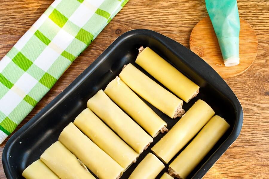 Delicious Beef Cannelloni recipe - step 13