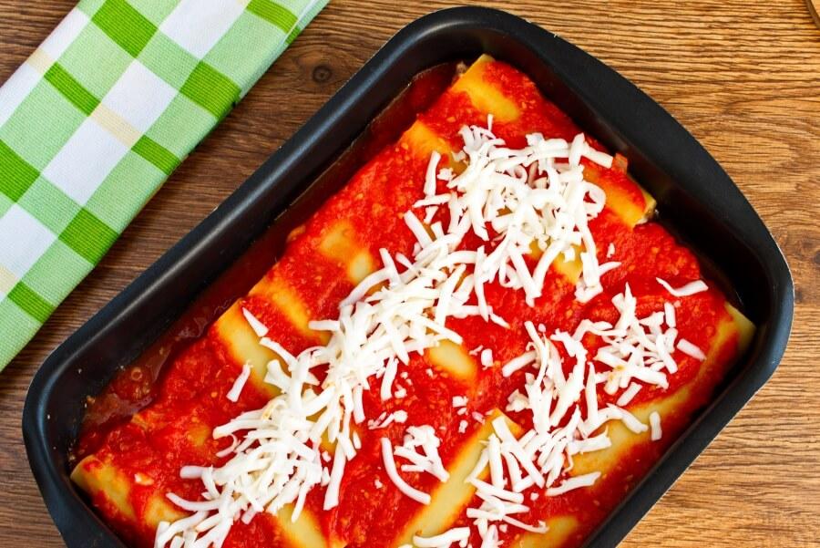 Delicious Beef Cannelloni recipe - step 15