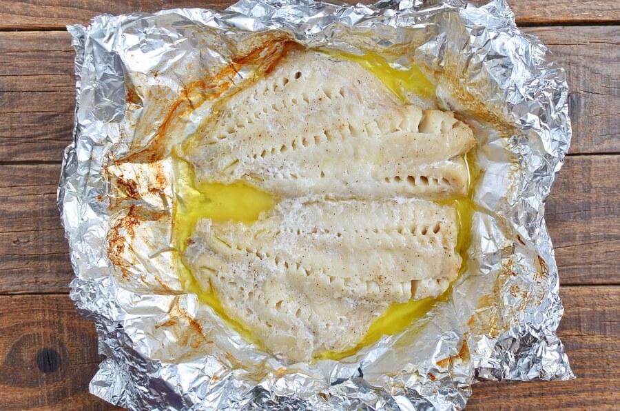Broiled Walleye Fillets recipe - step 4