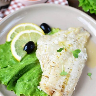 How to Cook Broiled Walleye Fillets Recipe - Quick and Easy Healthy Fish Recipes - Broiled Whitefish Fillet