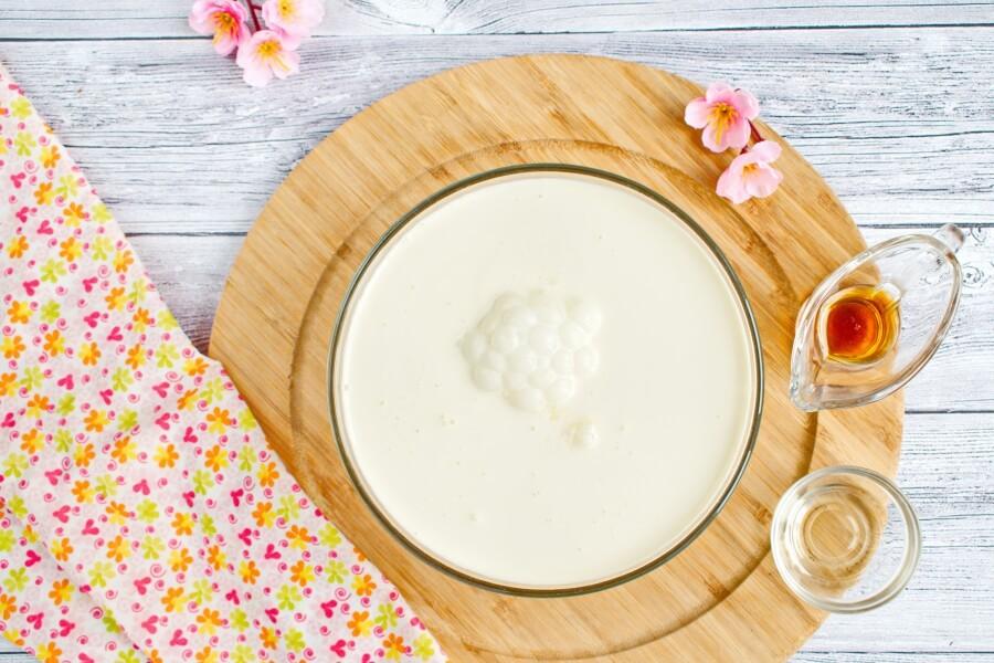 Homemade Cherry Vanilla Ice Cream recipe - step 2
