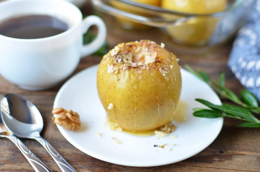 How to serve Cinnamon Baked Apples