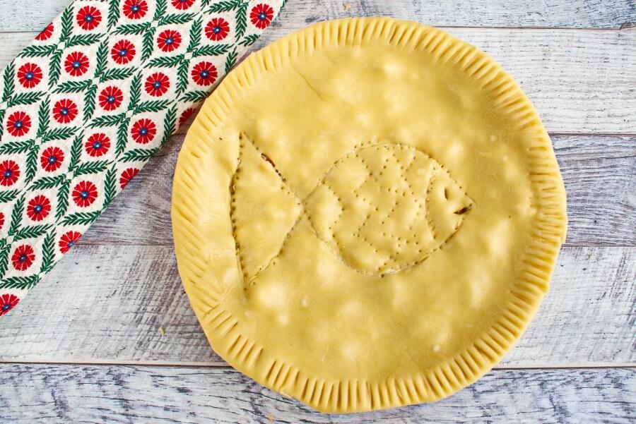 Creamy Salmon Pie recipe - step 7