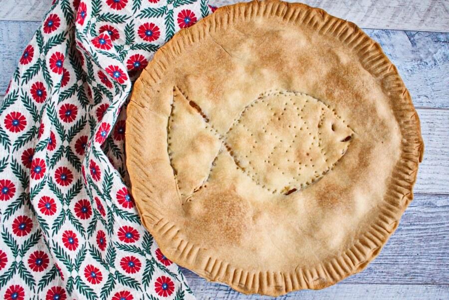 Creamy Salmon Pie recipe - step 8