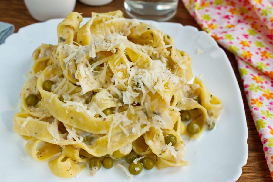 How to serve Creamy Tuna Pasta