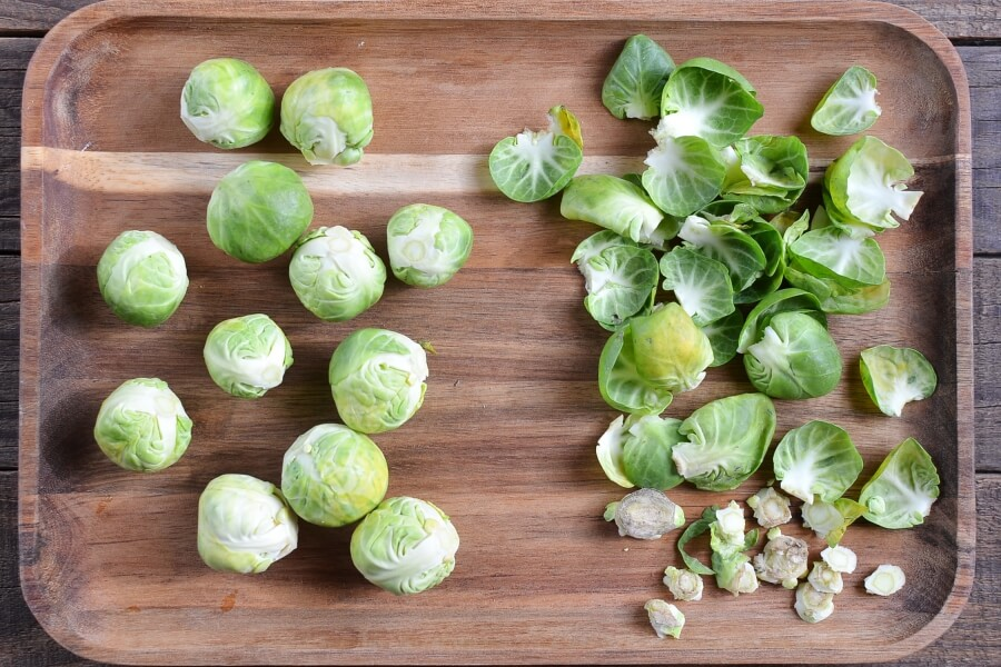 Crushed Brussel Sprouts recipe - step 2
