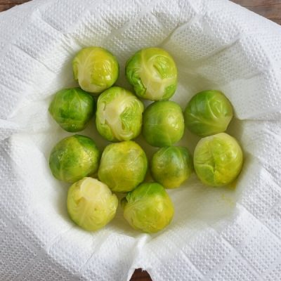 Crushed Brussel Sprouts recipe - step 3