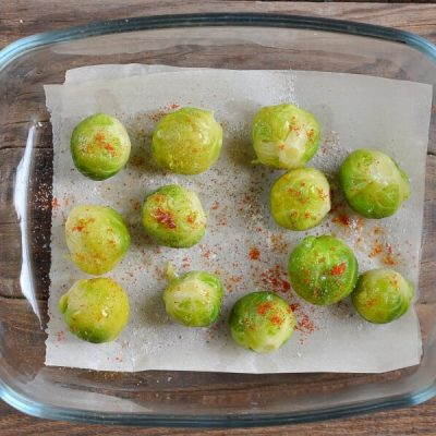 Crushed Brussel Sprouts recipe - step 4