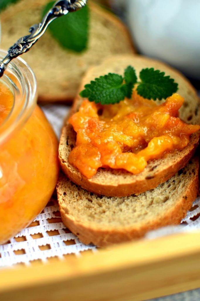 Exotic Persimmon Jam