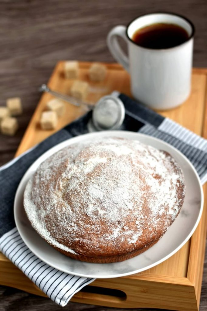 Vanilla Sponge Cake that is perfect on its own
