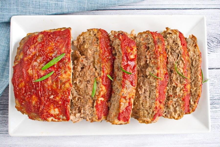 How to serve Egg-Free BBQ Meatloaf