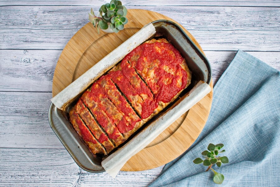 Egg-Free BBQ Meatloaf recipe - step 8