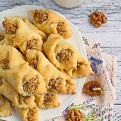 How to Cook Hungarian Kiffle Cookies Recipe - Hungarian Cuisine Desserts Recipe - Hungarian Kiffles
