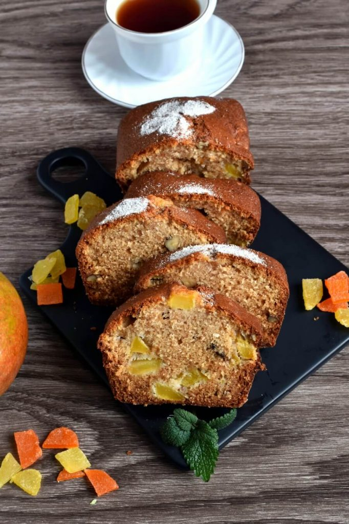 Mango and Coconut Bread