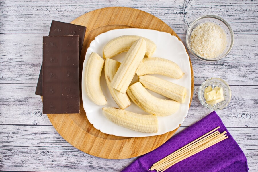 Ingridiens for Monkey Tails Dessert