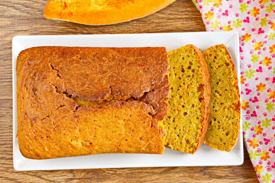 How to serve New England Pumpkin Bread