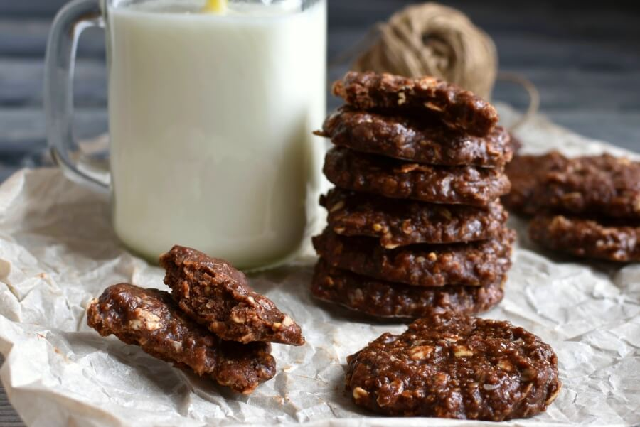 How to Cook No-Bake Peanut Butter Cookies Recipe - Classic Lazy No-bake Recipes for Kids - Easy Classic No-Bake Cookies