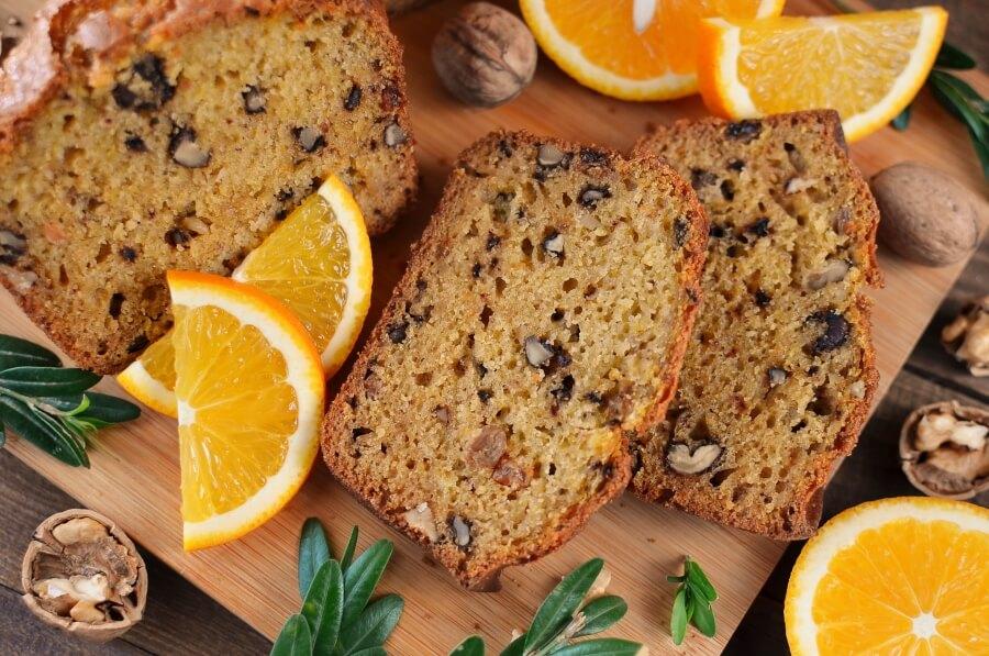 How to serve Pumpkin Orange Cake
