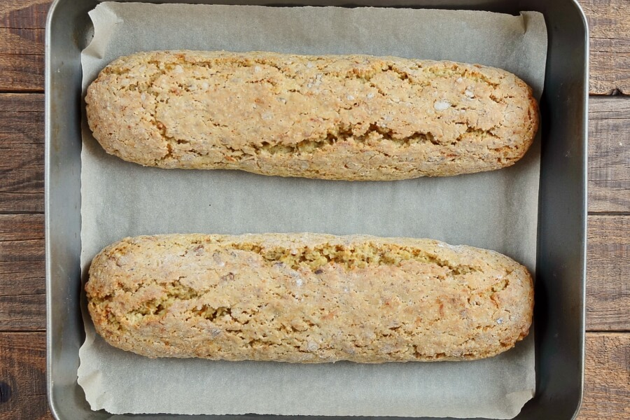 Orange and Walnut Biscotti recipe - step 6
