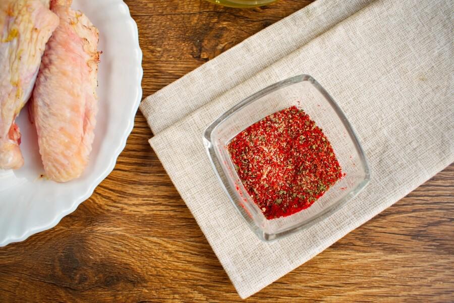 Keto Pan-Fried Turkey Wings recipe - step 2