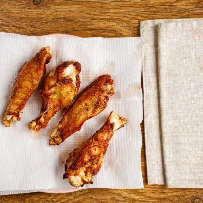 Keto Pan-Fried Turkey Wings recipe - step 7