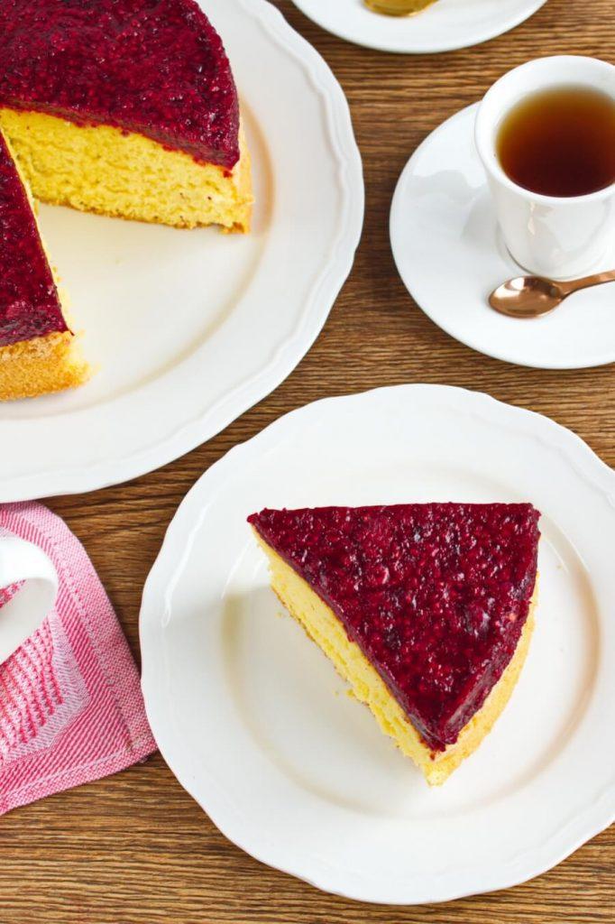 How to Cook Raspberry Jelly Sponge Recipe - Bake Jelly Sponge Cake at Home - Jelly Sponge Cake