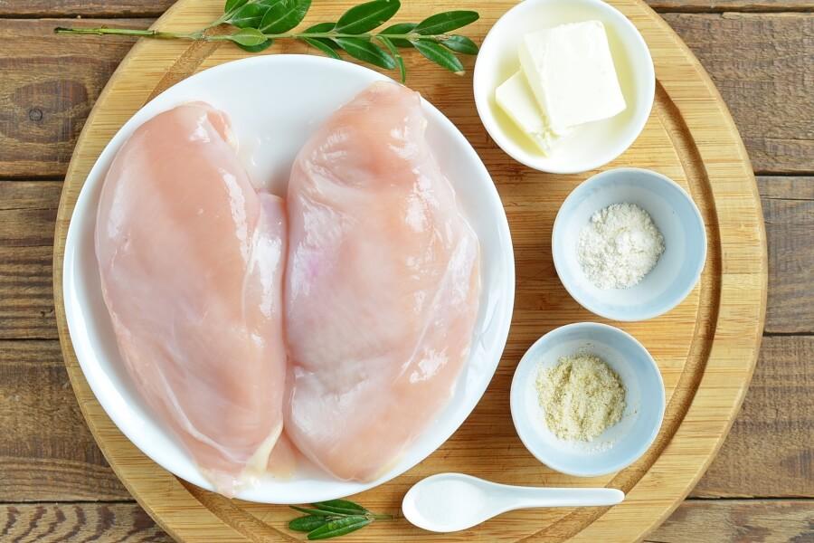 Ingridiens for Sauteed Garlic Chicken