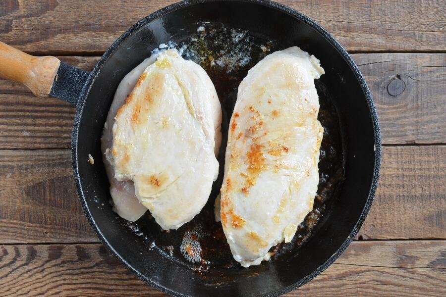 Sauteed Garlic Chicken recipe - step 2