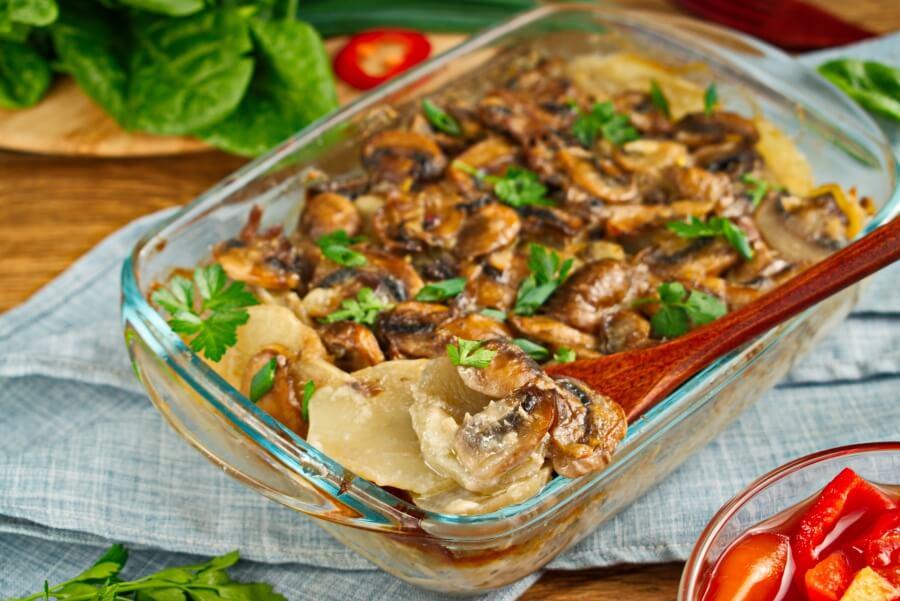 How to serve Scalloped Potato Gratin