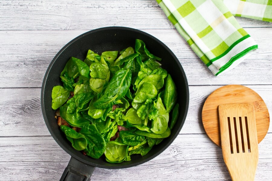 Southern Fried Spinach recipe - step 5