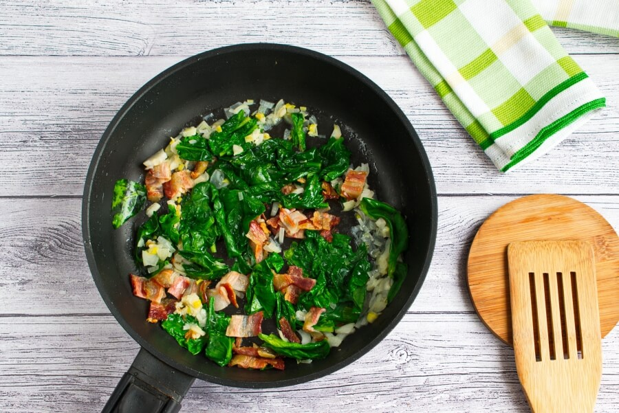 Southern Fried Spinach recipe - step 6