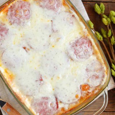 How to Cook Spaghetti Pizza Recipe - Pizza Spaghetti Casserole Recipe - Deep Dish Spaghetti Pizza