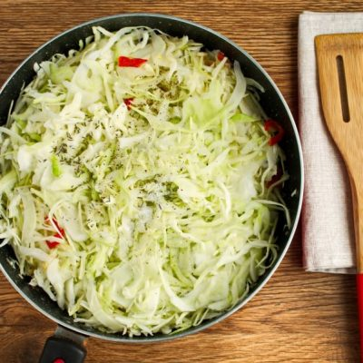 Steamed Chili Cabbage recipe - step 3