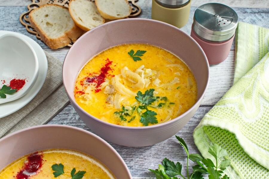 How to serve Sweet Onion Soup