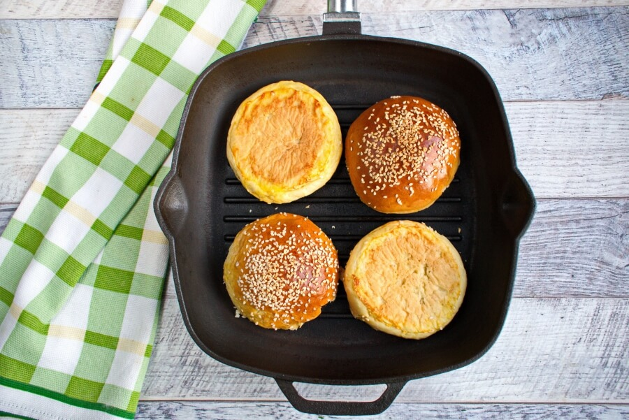 Easy Beef Burger recipe - step 5