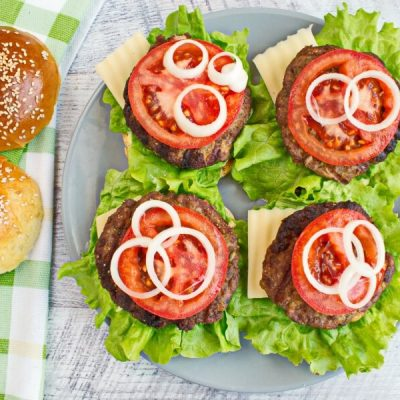How to serve Easy Beef Burger