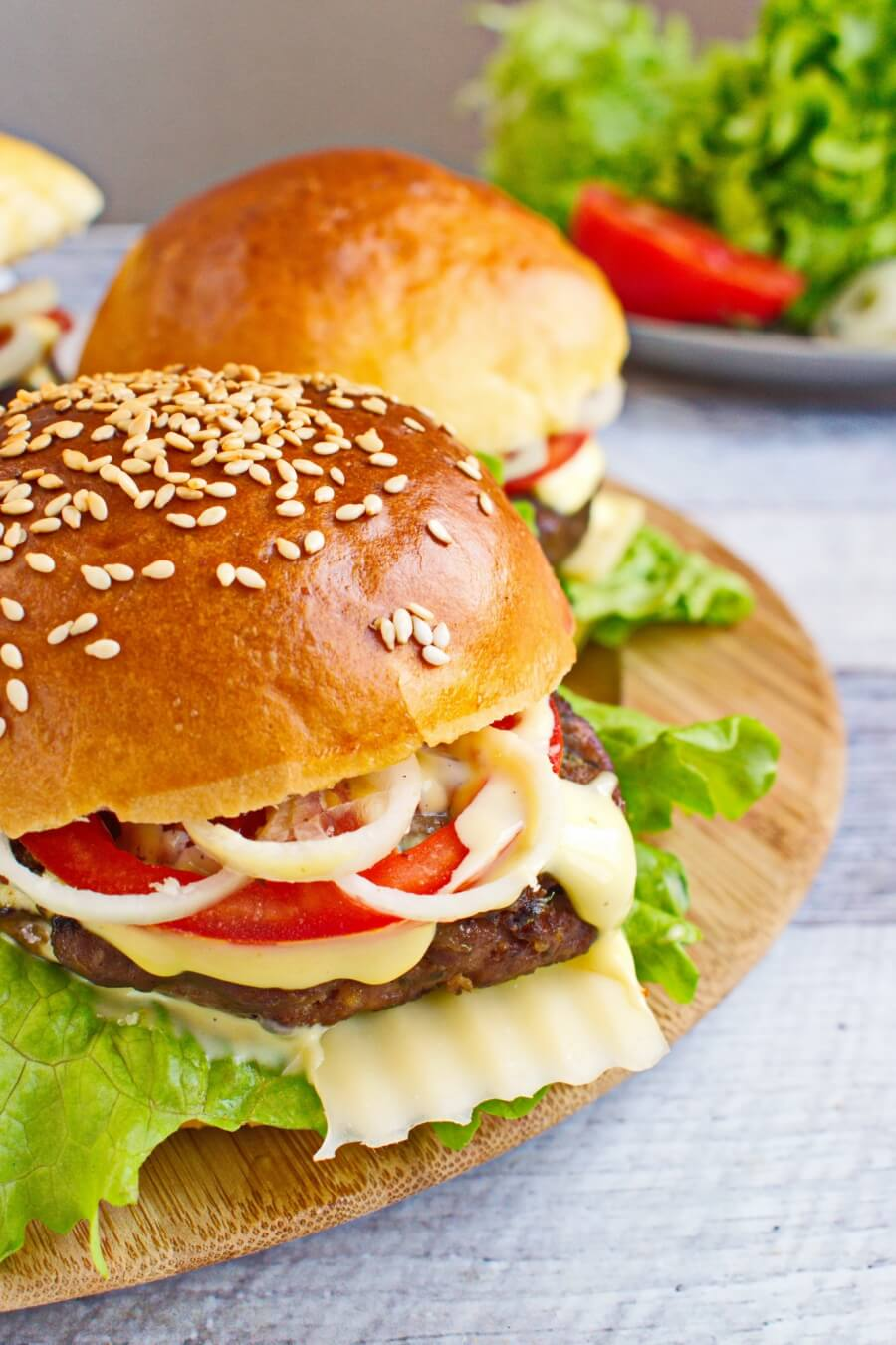 Easy Beef Burger Recipe Cook Me Recipes