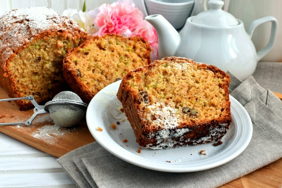How to serve Zucchini Loaf Cake