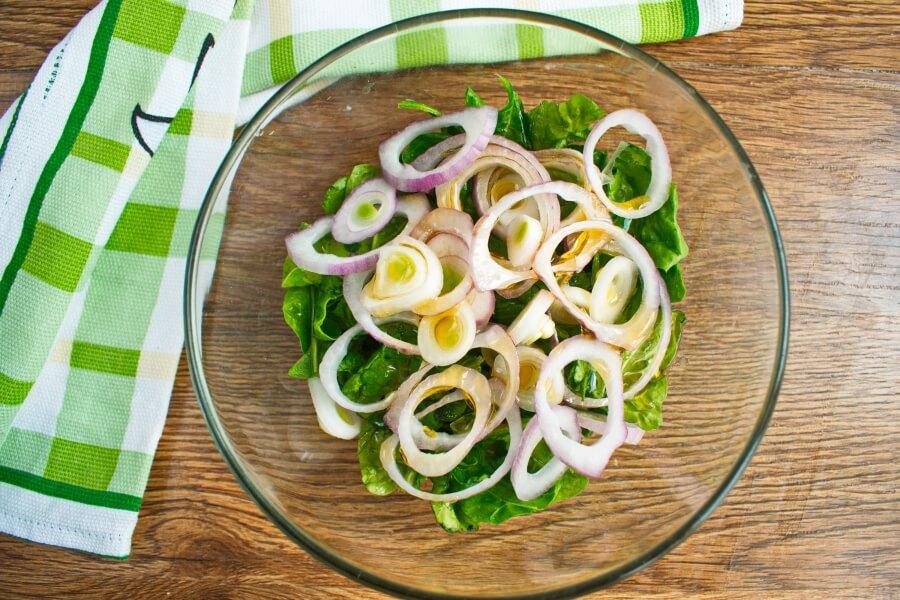 Spinach and Feta Pizza recipe - step 5