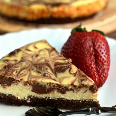 Amy's Marvelous Marbled Cheesecake Recipe-Marbled Vanilla Cheesecake-How to make Marvelous Marbled Cheesecake