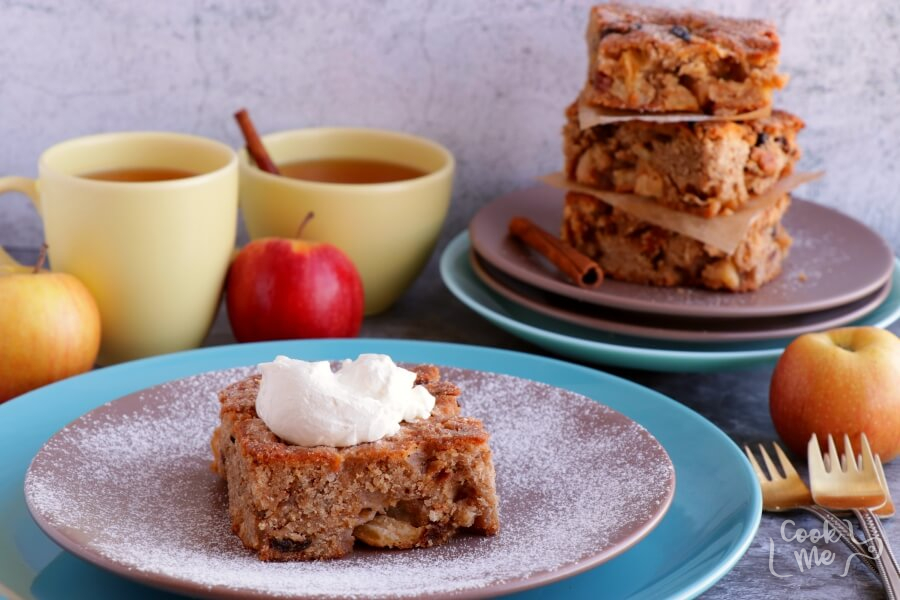 Apple Ugly Cake Recipe-Delicious Apple Ygly Cake-How to Make Apple Ugly Cake